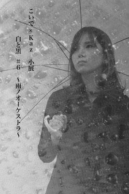 小展『白と黒 #6 〜雨ノオーケストラ〜』DM