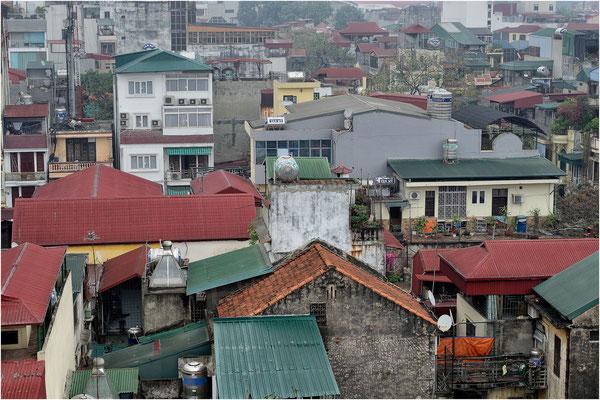 über den Dächern von Hanoi