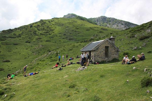 Cabane du col d'Andorre