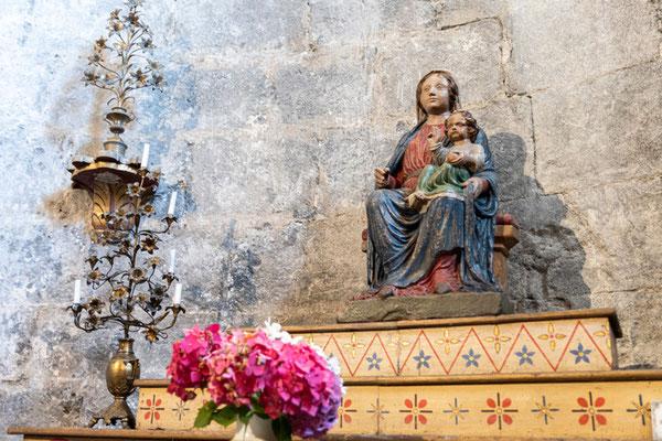 Notre-Dame de Saint-Pé, vierge du XIVe ©Pierre Champion
