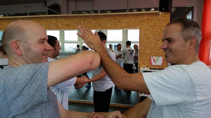 Wing Tsun Selbstverteidigung Ludwigsburg - Seminar 31. Oktober 2015_7
