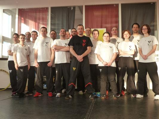 Wing Tsun Selbstverteidigung Ludwigsburg - Seminar 31. Oktober 2015_1