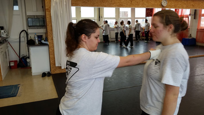 Wing Tsun Selbstverteidigung Ludwigsburg - Seminar 31. Oktober 2015_19
