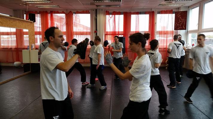 Wing Tsun Selbstverteidigung Ludwigsburg - Seminar 31. Oktober 2015_3