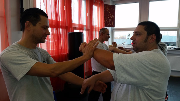 Wing Tsun Selbstverteidigung Ludwigsburg - Seminar 31. Oktober 2015_10