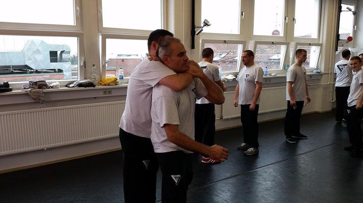 Wing Tsun Selbstverteidigung Ludwigsburg - Seminar 31. Oktober 2015_15