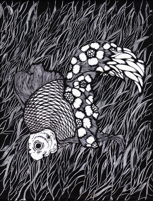 花金魚~深く沈む流れる~