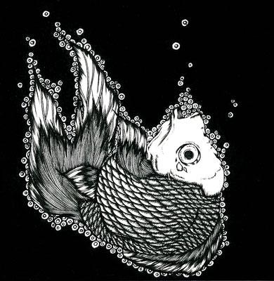 溺れ そして沈む魚