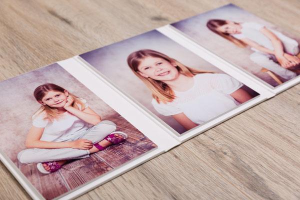 Fotos auf Kartonkern, für hohe Stabilität