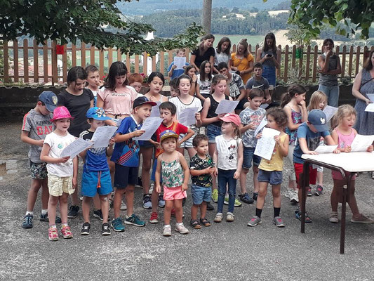 Fête de l'école R.P.I. St Just en Bas - Palogneux 2019