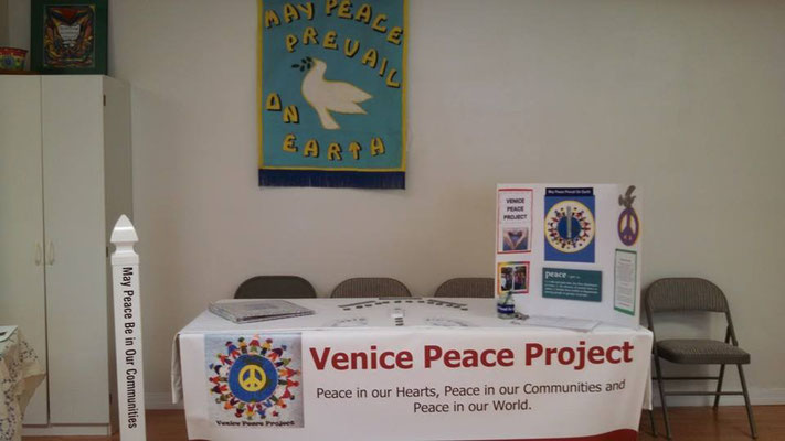 Ready for this day of Peace at the Community Fall Festival