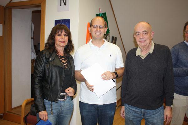 1. Platz für Susi Grümm und Hannes Bamberger