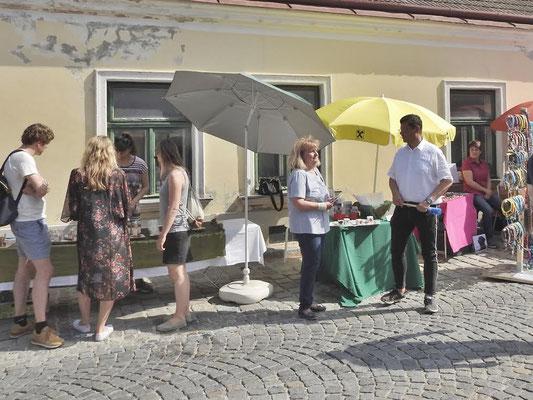 Hoher Besuch von unserem Herrn Bürgermeister Dr. Günther Trettenhahn