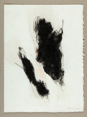 Sans titre / Technique mixte sur papier / 28,5 x 38,5