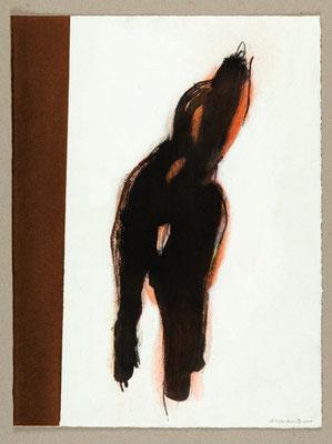 Sans titre / Technique mixte sur papier / 28 x 37