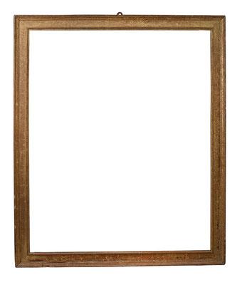8435  Kassettenrahmen, Toskana 16.Jh., Pinienholz vergoldet, 146,2 x 119,3 x 10 cm