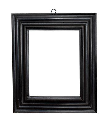 0392  Kabinett Rahmen, 16./ 17.Jh., Birnenholz furniert und ebonisiert, 31,2 x 24 x 8,3 cm