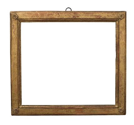 2242  Louis XVI Rahmen, Eiche profiliert und vergoldet, 29,5 x 33,4 x 4 cm