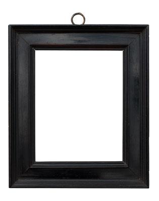 2235  Kabinett Rahmen, 16./ 17.Jh., Ebenholz furniert, 17,8 x 14 x 4,5 cm