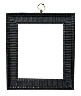 8392  Wellenleisten Rahmen, Niederlande 17.Jh., Ebenholz, 27,3 x 21 x 5,3 cm