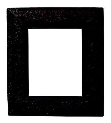 0870  Louis XIII Rahmen, Linde geschnitzt, 44 x 34 x 13,8 cm