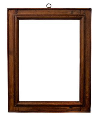 8408  Kassettenrahmen, Toskana 16.Jh., Nussholz  49,4 x 36,3 x 7 cm