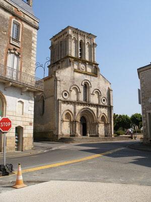 L'église de Maillezais