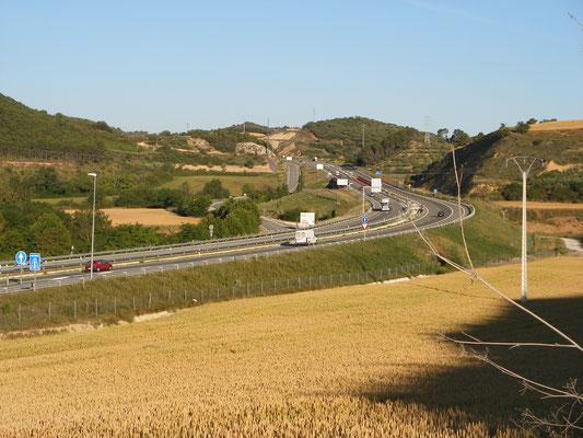 Entre chemin et autoroutes