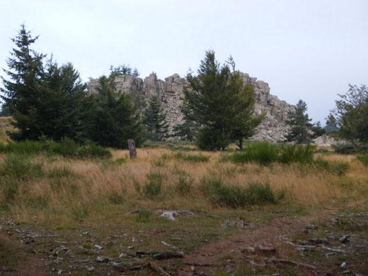 Le rocher de Rechaudo