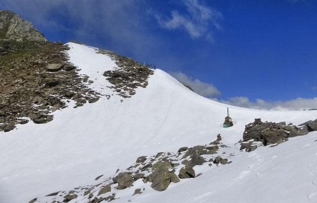 Nous arrivons au Col de Brevent