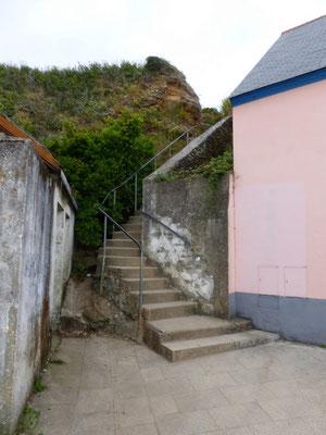 Départ du tour de l' Île