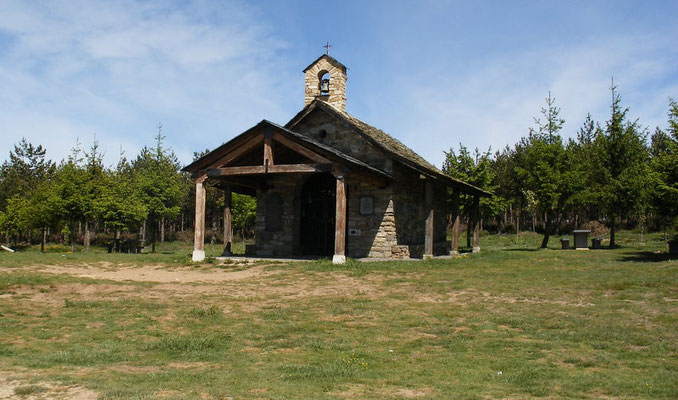La chapelle prés de la cruz