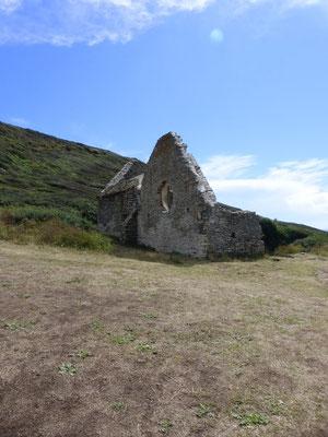 Ruine d'une église dédiée à St Germain le Scot, Vème siécle