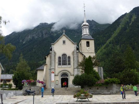 L'église de Chamonix
