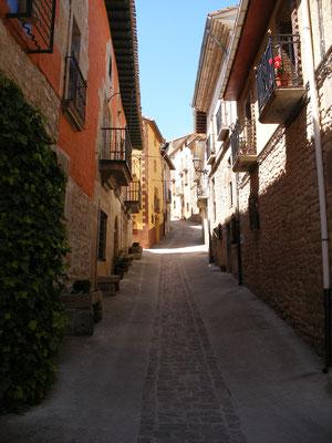 La rue centrale