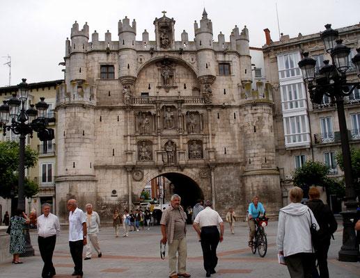 La porte  Sainte Marie de Burgos