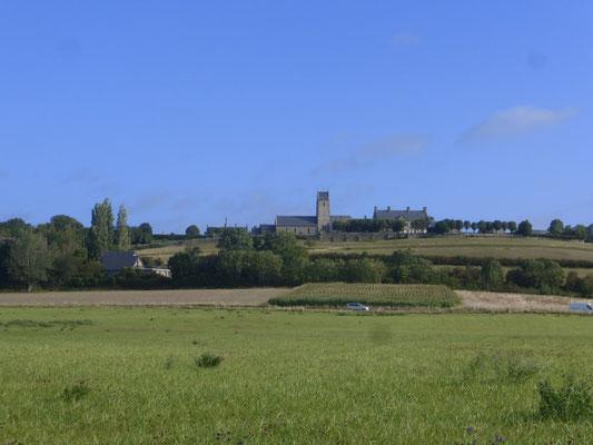 L'église de Tourville sur Sienne