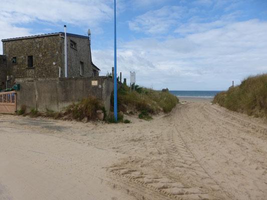 La plage de Bretteville sur Ay