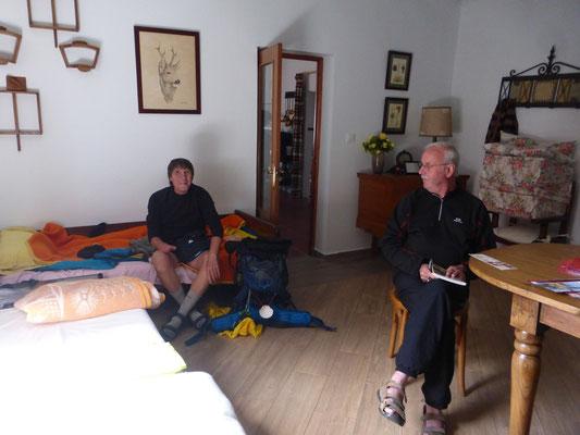 Deux pélerins, Biajo l'Italien, Marcel le Français