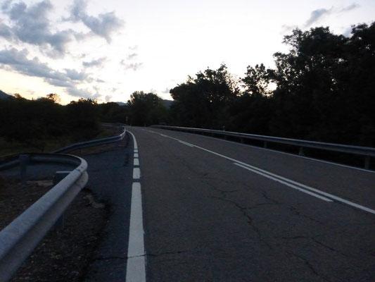Sur plus de 8 km