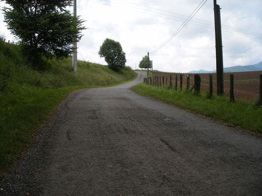 Sur 9 km, le chemin est trés abrupte