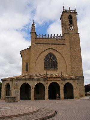 L'église d'Obanos