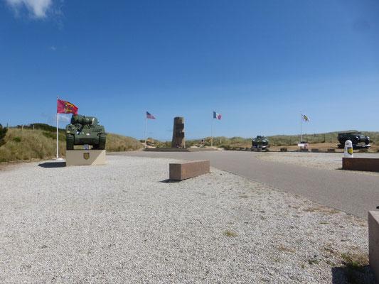 Le monument du Général Leclerc