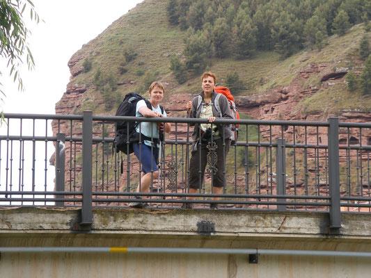Nous traversons le rio Najerilla