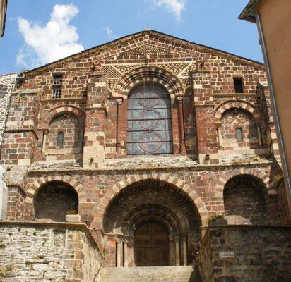 Eglise Saint Caffre, le Monstier sur Gazeille