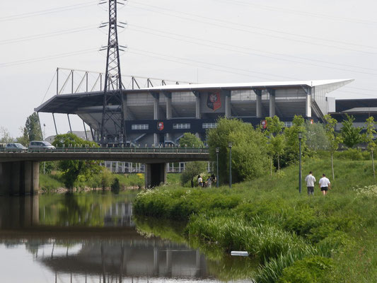 Le stade de Rennes