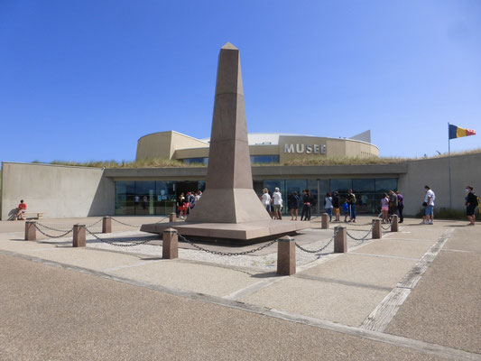 Utah Beach, le musée.