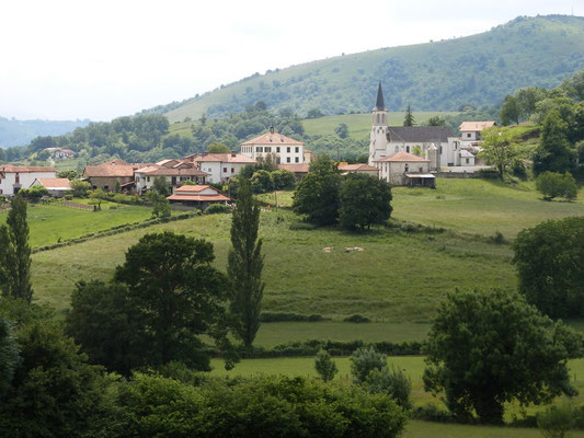 Le village d'Ostabat