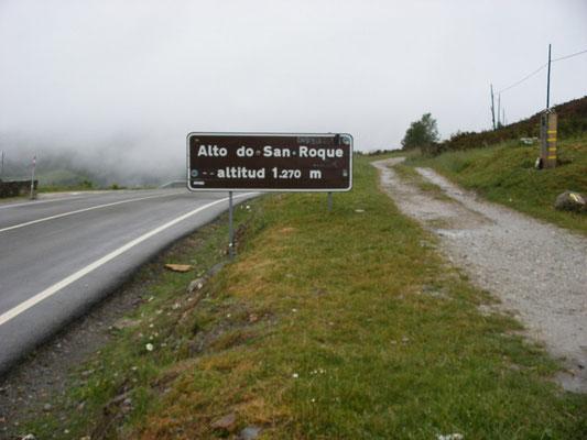 Le col San Roque