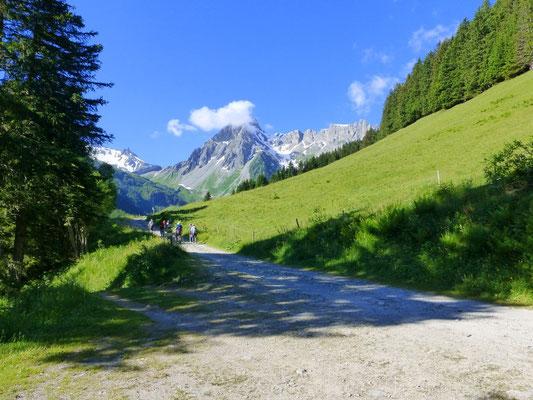 Vaste Alpage et réserve naturelle des Contamines